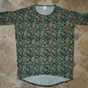 NWOT LulaRoe Short Sleeve Shirt XS